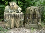 Pack, ALICE, Large, W/ Frame, OG, UKSF Modified & Painted, Used